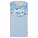 Großhandel Shirts & Tops: Herren Tanktop Tropical, hellblau, ...