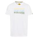 wholesale Fashion & Apparel: Men's T-Shirt Paradise, white, assorted sizes
