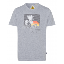 wholesale Fashion & Apparel: Men's T-Shirt , gray melange, assorted sizes