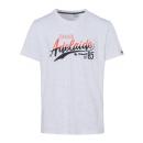 Men's T-Shirt Adelaide, snow melange, assorted