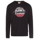 hurtownia Fashion & Moda: Męska koszulka z długim rękawem Unlimited, czarna,