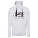 wholesale Fashion & Apparel: Men's Tubeneck Sweatshirt Sydney, L, snow-mela