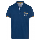 wholesale Fashion & Apparel: Men's polo shirt Hit the Trail, marine, ...
