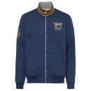 Men's sweat jacket Trail Life, marine, assorte