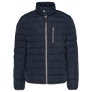 Men's padded jacket Bikers Club, anthracite, a