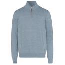 wholesale Jeanswear: Men's knit troyer identity, denim blue, assort