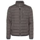 wholesale Fashion & Apparel: Men's padded jacket Identity, gray-brown, asso