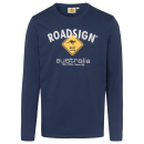 Logo de camisa de manga larga para hombre Roadsign