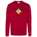 Herenlogo met lange mouwen Roadsign , M, rood