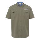 wholesale Fashion & Apparel: Men's short sleeve shirt Wildlife, khaki, ...