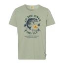grossiste Vetement et accessoires: Pour des hommes T-Shirt Up the River, vert clair,
