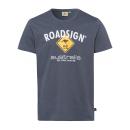 Großhandel Fashion & Accessoires: Herren Logo T-Shirt Raute, 4XL, anthrazit