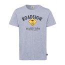 Men logo T-Shirt Diamond, L, gray melange