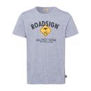 wholesale Shirts & Tops: Men logo T-Shirt Diamond, L, gray melange
