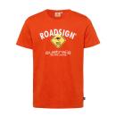 nagyker Ruha és kiegészítők: Férfi logó T-Shirt Gyémánt, 4XL, narancssárga