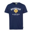 Großhandel Fashion & Accessoires: Herren Logo T-Shirt Raute, 4XL, marine