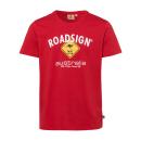 hurtownia Fashion & Moda: Logo mężczyzn T-Shirt Diament, L, czerwony