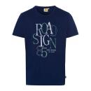 wholesale Fashion & Apparel: Men logo T-ShirtRoadsign , marine, assorted Gr