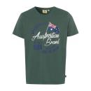 groothandel Kleding & Fashion: Mannen logo T-Shirt Australische vlag, ...
