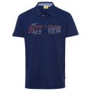 hurtownia Fashion & Moda: Męska koszulka polo dla aktywnych, morska, ...
