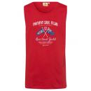 nagyker Ruha és kiegészítők: Férfi felső Pacific Sail Club, piros, válogatott m