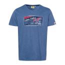 nagyker Ruha és kiegészítők: Férfiak T-Shirt Homár horgászat, farmer kék, fajta