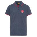 wholesale Fashion & Apparel: Men's polo shirt set Sail, marine melange, sor