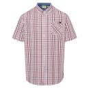 wholesale Fashion & Apparel: Men's leisure shirt set Sail, white / red / ma