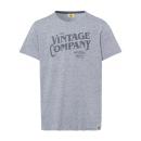 Férfiak T-ShirtVintage Társaság, antracit melange,