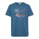 Férfiak T-Shirt Pacific Soul, kék, válogatott mére