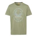 groothandel Kleding & Fashion: Mannen T-Shirt Wave Crusher, khaki, diverse maten