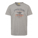 wholesale Fashion & Apparel: Men's T-Shirt Simpson Desert, gray melange, so