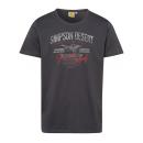 Férfiak T-Shirt Simpson sivatag, antracit, szortír