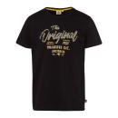 Męskie T-Shirt Oryginalny, czarny, różne rozmiary