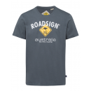 Großhandel Fashion & Accessoires: Herren T-Shirt Roadsign, L, anthrazit
