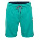 Großhandel Shorts: Herren Sweatbermuda, 2XL, petrol