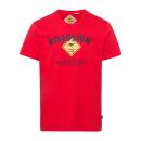 Großhandel Fashion & Accessoires: Herren T-Shirt Roadsign, 4XL, rot