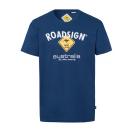 Großhandel Fashion & Accessoires: Herren T-Shirt Roadsign, M, marine