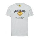 grossiste Vetement et accessoires: Messieurs T-ShirtRoadsign , M, mélange de neige