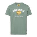 nagyker Ruha és kiegészítők: úriemberek T-ShirtRoadsign , 2XL, khaki