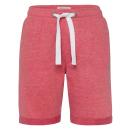 wholesale Shorts: Women's sweat shorts, S, red