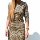 Großhandel Kleider: Kleid, im Freien  zurück, weiblich, Panther