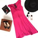 Großhandel Kleider: Kleid, Sommer, flammte rosa
