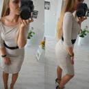 groothandel Kleding & Fashion: Dress fit, geplooide beige