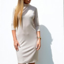 wholesale Dresses: Dress, open back, feminine, beige