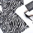 Blouse, vrouwelijk, uitgesteld, zebra