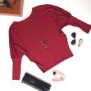 ingrosso Camicie: Camicetta,  pipistrello, kimono, marrone