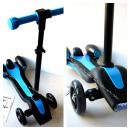 wholesale Kids Vehicles: Scooter,  afterburner, light, blue