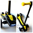 wholesale Kids Vehicles: Scooter,  afterburner, light, yellow