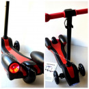 wholesale Kids Vehicles: Scooter,  afterburner, light, red